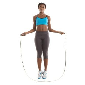Lady Jumping Rope